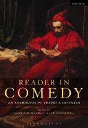 Reader in Comedy Pdf/ePub eBook