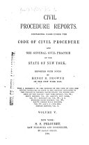 Civil Procedure Reports
