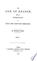 The Theological Works of Thomas Paine Book