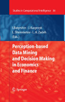 Pdf Perception-based Data Mining and Decision Making in Economics and Finance