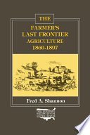 The Farmer S Last Frontier Agriculture 1860 97