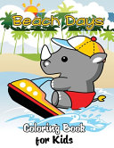 Beach Days Coloring Book for Kids