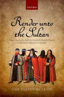 Pdf Render unto the Sultan Telecharger