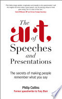 The Art Of Speeches And Presentations PDF