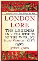 London Lore Pdf/ePub eBook
