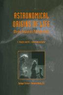 Pdf Astronomical Origins of Life Telecharger