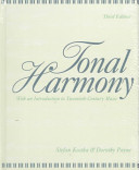 Tonal Harmony Book