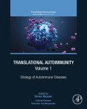 Translational Autoimmunity  Vol  1 Book
