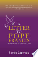 A Letter to Pope Francis Book
