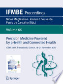Precision Medicine Powered by pHealth and Connected Health Book