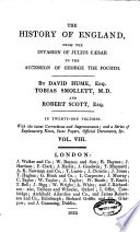 The    History of England  from the Invasion of Julius Caesar to the Accession of George the Fourth