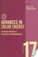 Advances in Solar Energy Book