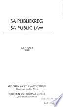 SA public law