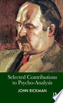 Selected Contributions to Psycho Analysis