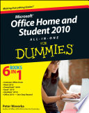 Office Home And Student 2010 All In One For Dummies