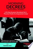 Morning Decree Devotional Journal Volume 2