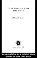 God, Gender and the Bible Pdf/ePub eBook