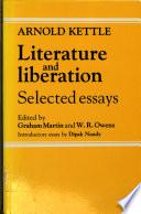 Literature and Liberation