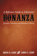 A Reference Guide to Television   s Bonanza