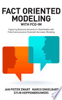 Fact Oriented Modeling with FCO IM