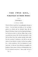 Pdf The Twin Soul; Or, The Strange Experiences of Mr. Rameses