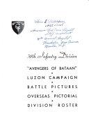 38th Infantry Division Avengers Of Bataan