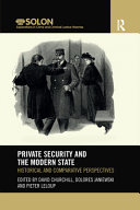 Private Security and the Modern State