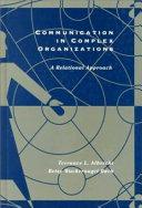 Communication in Complex Organizations