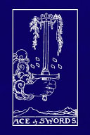 Ace of Swords  Tarot Card Journal  6 X 9 Inch Matte Softcover Paperback Notebook with 120 Blank Lined Pages