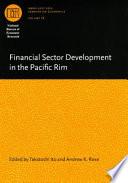 Financial Sector Development in the Pacific Rim Pdf/ePub eBook