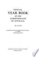 Official Year Book Of The Commonwealth Of Australia No 58 1972
