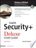"""CompTIA Security+ Deluxe Study Guide: SY0-201"" by Emmett Dulaney"