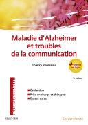 Pdf Maladie d'Alzheimer et troubles de la communication Telecharger