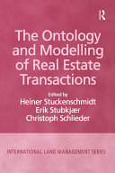 The Ontology and Modelling of Real Estate Transactions Pdf/ePub eBook