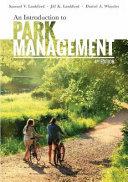 Introduction to Park Management