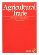 Agricultural Trade Book