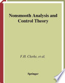 Nonsmooth Analysis and Control Theory Book