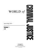 World Of Criminal Justice