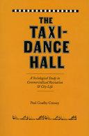 The Taxi-Dance Hall