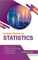 Instant Notes on Statistics
