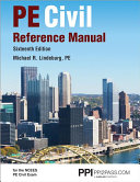Pe Civil Reference Manual Book PDF