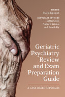 Geriatric Psychiatry Review and Exam Preparation Guide Pdf/ePub eBook