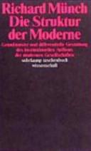 Die Struktur der Moderne