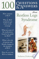 100 Questions Answers About Restless Legs Syndrome Book PDF