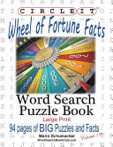 Circle It, Wheel of Fortune Facts, Word Search, Puzzle Book
