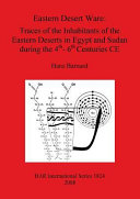 Eastern Desert Ware: Traces of the Inhabitants of the Eastern ...