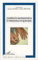 Pdf L'expérience professionnelle et personnelle en questions Telecharger