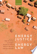 Energy Justice and Energy Law Book