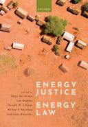 Energy Justice and Energy Law