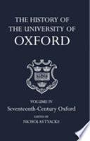 Seventeenth-century Oxford